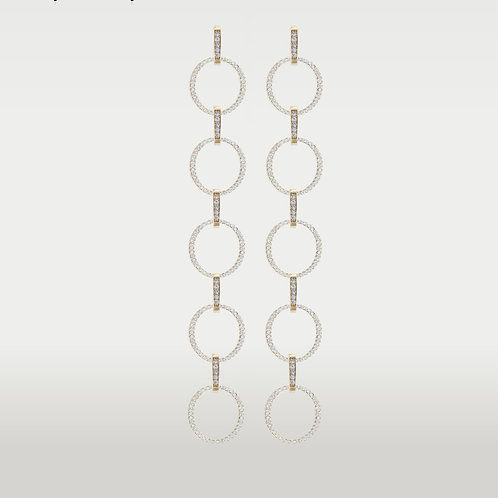 Circles of Creation Earrings