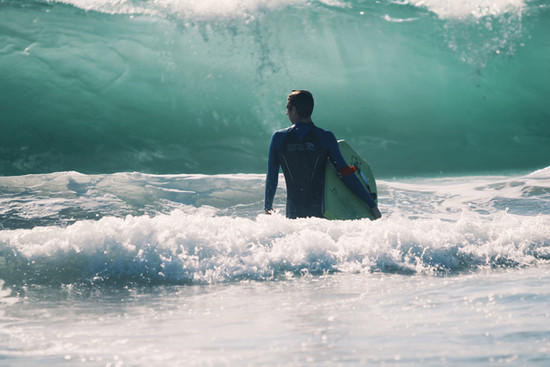 """""""You can't stop the waves, but you can learn how to surf."""" ~Jon Kabat-Zinn"""