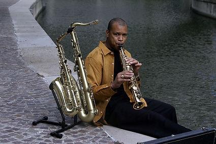 Saxophonist Chuck Anderson, Jazz