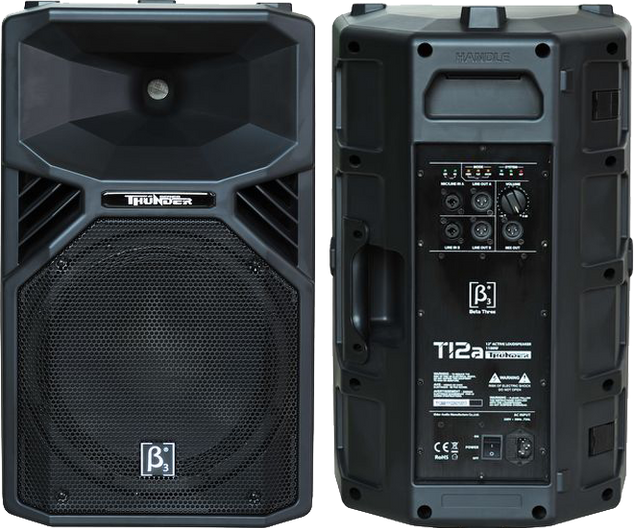 (7) $140 15 INCH Self powerd Pro Speaker