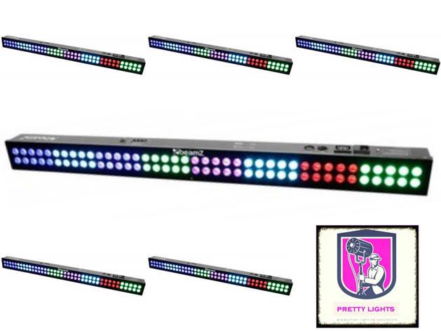 LED Colour Bar - 80x 3-in-1 LEDs 80x 3 in 1 LEDs - DMX IRC