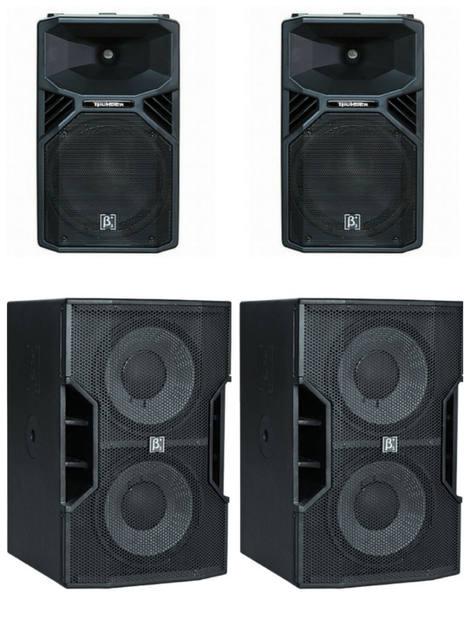 6200 Watt RMS sound system $250