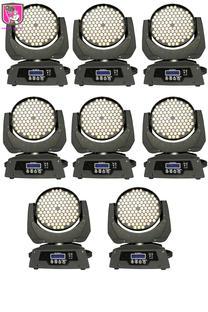 8x 108 LED wash moving head