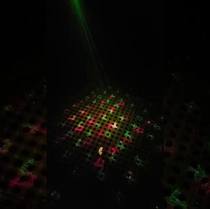 $20 Twinkling Christmas Party Decoration Stage Laser Light  Multi laser Hire Prices are for 2 nights hire  $20