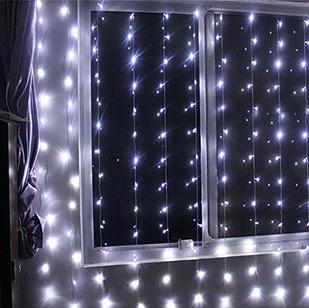 3x3M 300LED Window Curtain  Cool white  $25