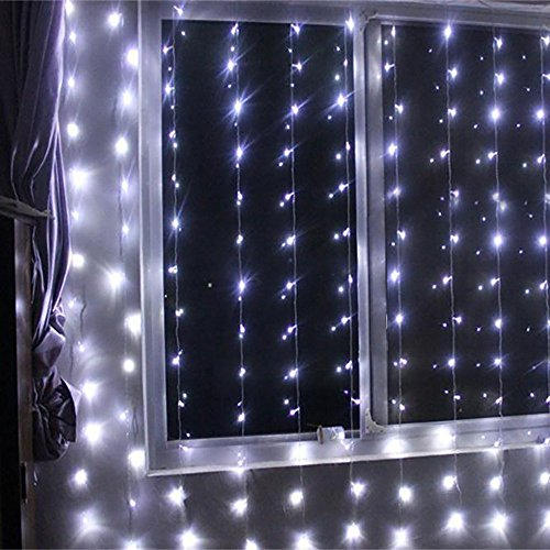 3x3M 300LED Window Curtain  Cool white  $25