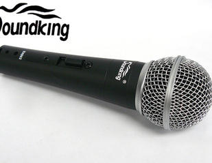 $10 Soundking pro dynamic microphone similar to Shure SM58  from $10