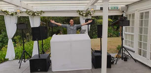 White Pro DJ Booth  $70 Weekend Hire