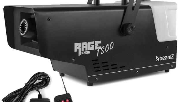 Snow Machine With Wireless and Timer Controller - Rage 1800  $45 for the machine. snow fluid is $15 per liter.