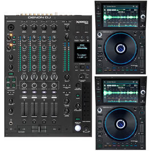 Denon package 2x sc6000 and 1x 1850 $425 per night