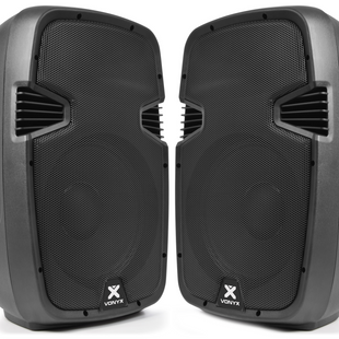 $50 2x Budget Active Speaker - 12 Inch with AUX lead