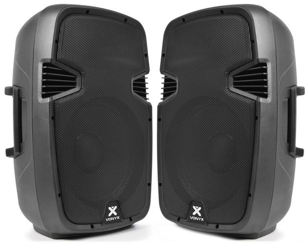 2 x 12 inch active speakers  $60
