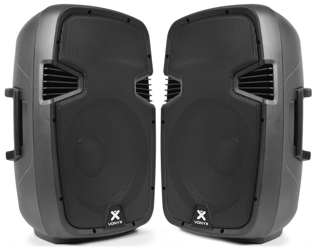 (1) Active Speaker - 12 Inch (PAIR)  $60 for the pair