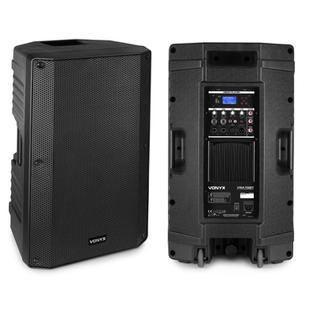 """$80 2x 15inch Bi-Amplified Active Speaker 15"""" 500 Watts - Bluetooth / MP3  $80 for pair"""