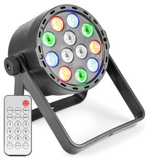 $100 10 x LED Par Light - RGBW - Rechargeable Battery