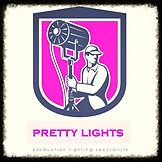 Pretty Lights Logo,Sound and Lighting Hire,Lasers