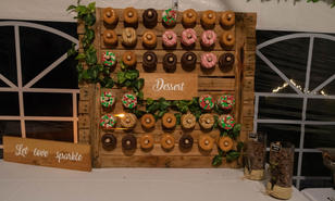 HOME MADE DONUT WALL