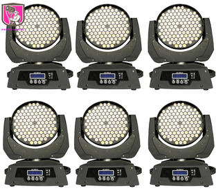 6x 108 LED wash moving head