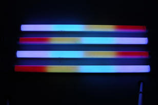 Digital LED Tube - 1 Metre Long  $10 EACH. CALL for a deal on more with led controler.