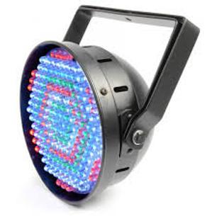 $25 for 2 LED DMX PAR64 Can, Black, 183 LEDs