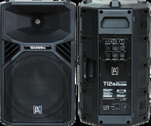 (6) $120 2 x 12 INCH 1100watt Active Pro