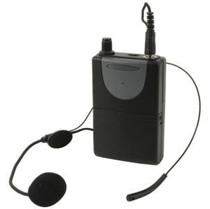 Wireless Headset for portable PA  can swap for mic