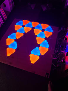 Nano Leafs  Call for Price  We come out and install for events.