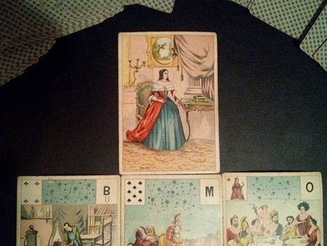 Grand Jeu Lenormand tells it like it is...