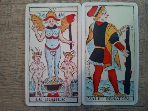 Tarot de Marseille Reflections
