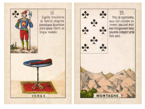 Lenormand Combination Tips #1