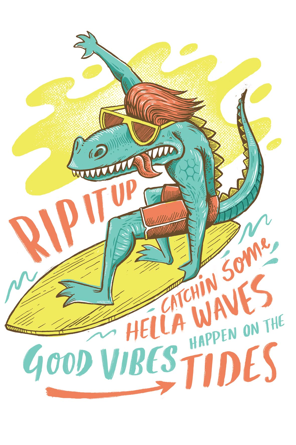 Surf Dino