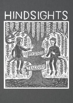 Hindsights Hoodie print