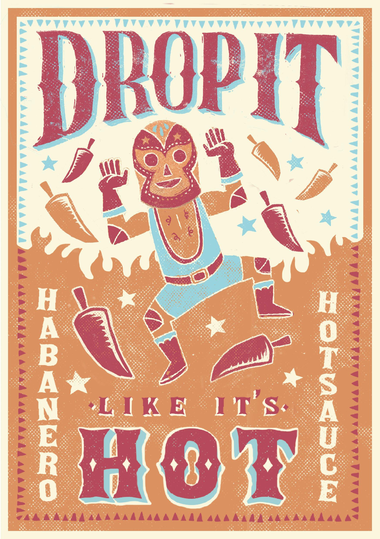 Drop it Like its Hot Leaflet