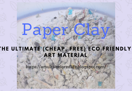 Paper Clay DIY – The Ultimate Eco Friendly Art Material!