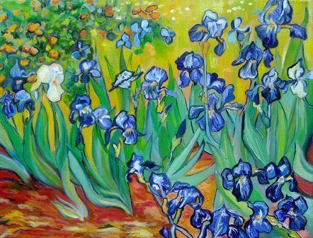 Van Gogh lilies