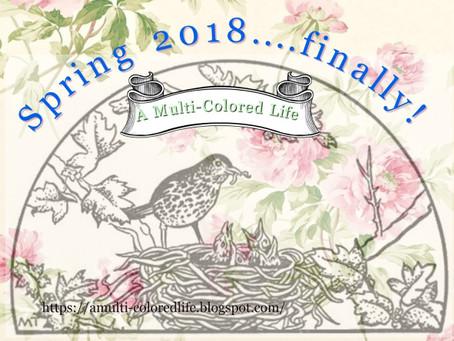 Spring 2018…finally!