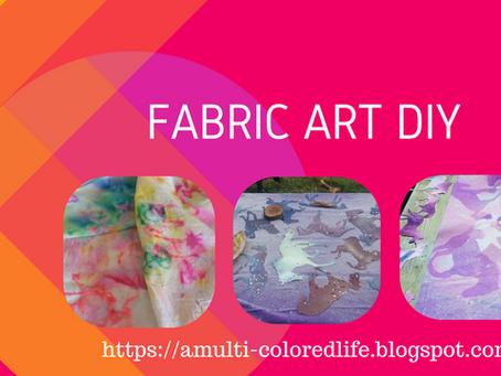 Fabric Art DIY