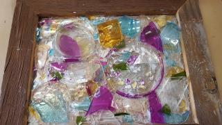 DIY Broken Glass Mosaic II