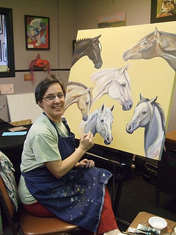 Sue Steiner, pet portrait artist