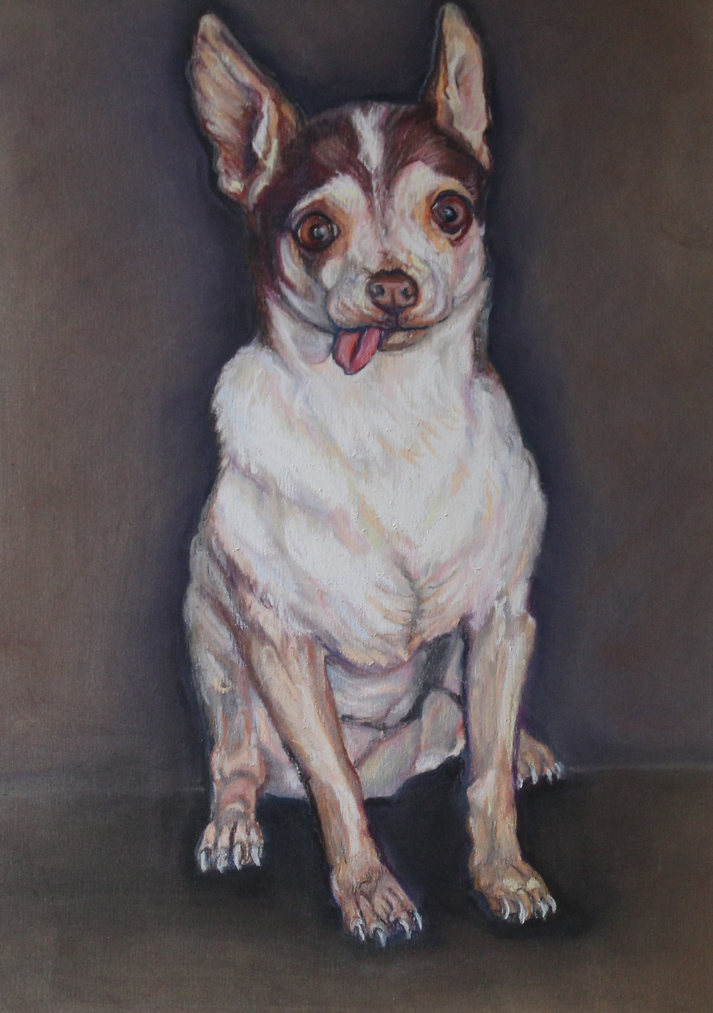 Chihuahua Custom Pet Portrait
