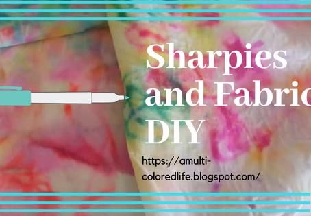 Sharpies and Fabric Fun! DIY