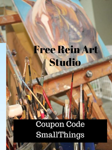 Coupon Code For Free Rein Art Studio