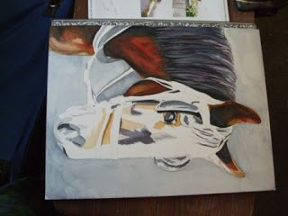 Buggy Horse Portrait 'Work in Progress'