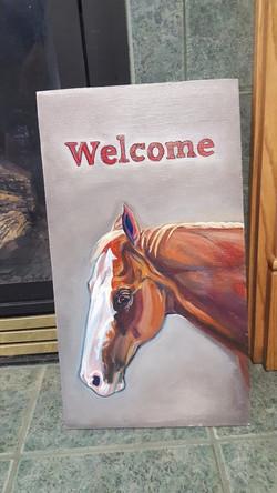 custom barn sign