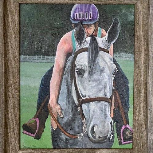 Horse & Rider Portraits, Pet & Owner Portraits