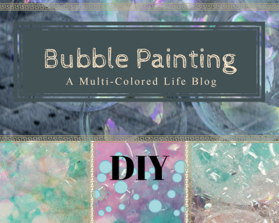Bubble Painting DIY for Kids and Adults!
