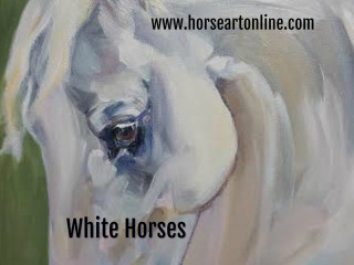 White Horses in Art and Photography