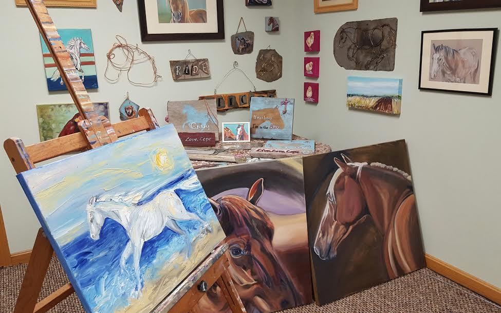 Equine Art by Sue Steiner