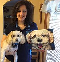 Custom Pet Portrait Gift