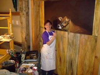 Buggy Barn Mural 'Work in Progress'